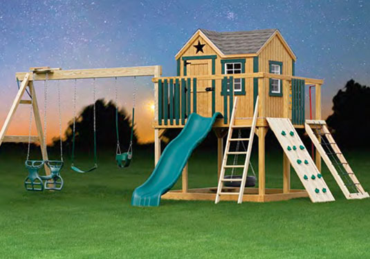 Wooden Swing Sets Lowes