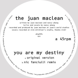 The Juan Maclean on the Sheen Resistance blog