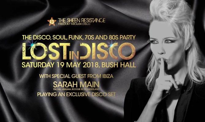 Lost In Disco at Bush Hall London Sarah Main