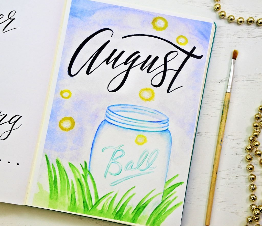 Free Bullet Journal Printables For August Sheena Of The