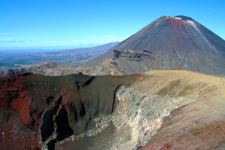 Mt Ngauruhoe und Red Crater