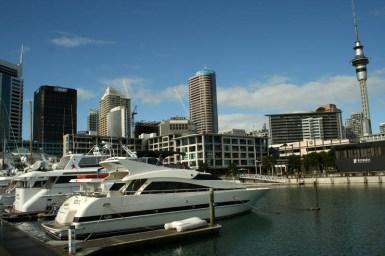 Aucklands Hafen