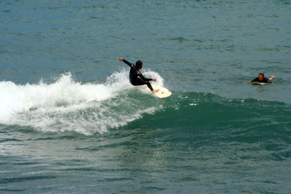 Surfen in Mahia