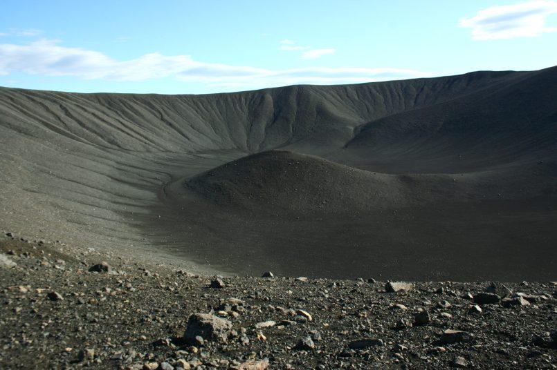 Hverfell Krater