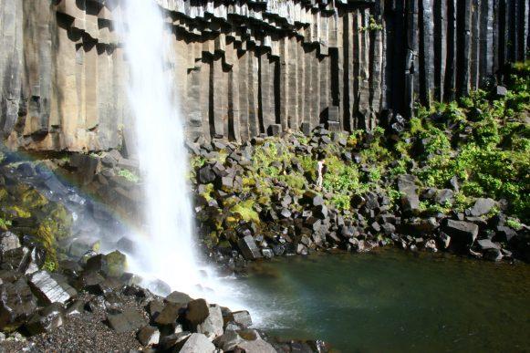 Wasserfall Svartifoss