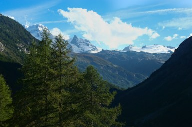 Rechts hinter der Ecke versteckt sich das Matterhorn