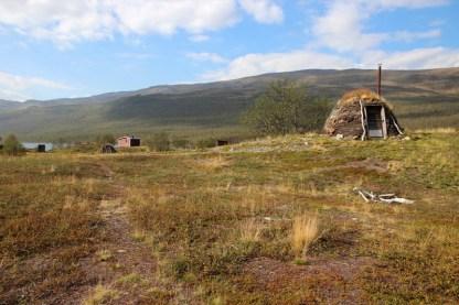 Samihütte am Abiskojärvi