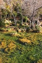 Die grünschimmernden Gewässer des Krka Nationalparks