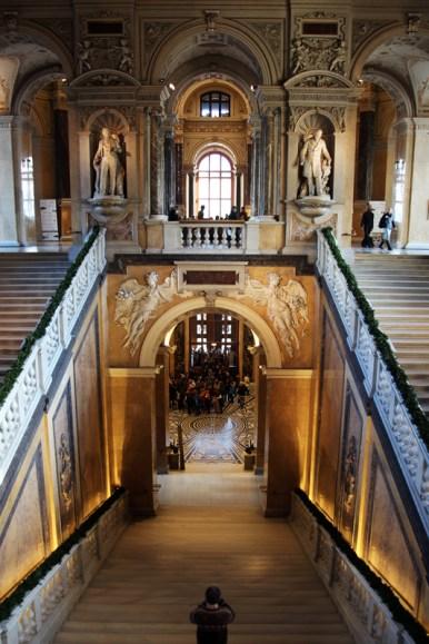 Eingangshalle des Naturhistorischen Museums Wiens