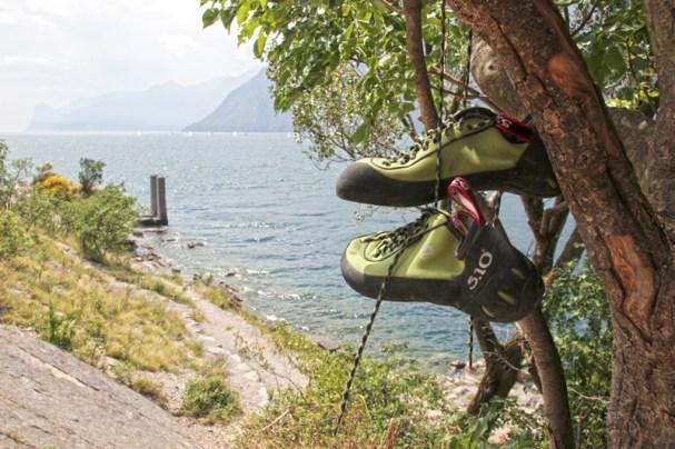 """Klettern am Spot """"Corno di Bo"""""""