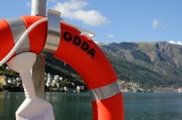 Am Hafen von Odda