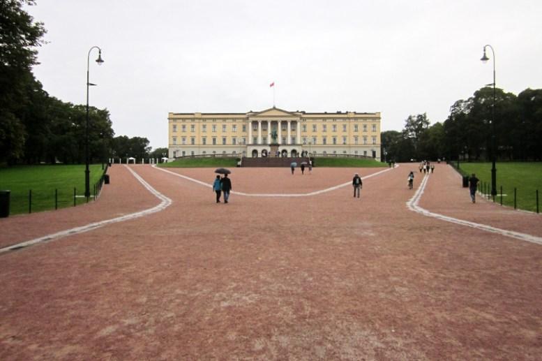 Königspalast in Oslo
