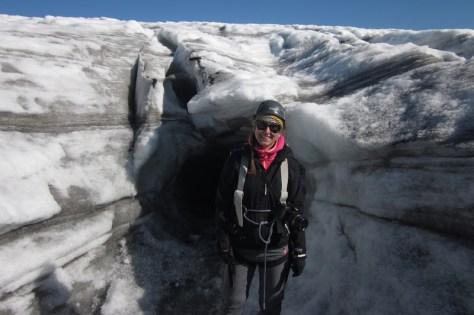 Vor der Eishöhle