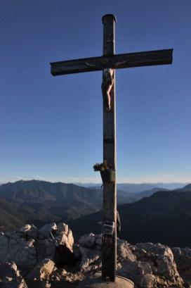 Gipfelkreuz der Brecherspitze