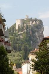 Blick von Arco auf die Burg