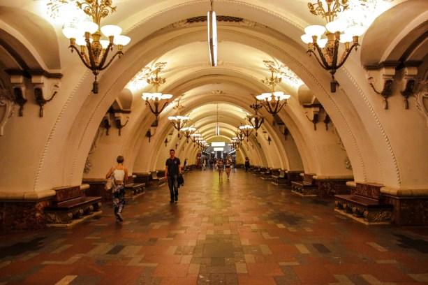 Metrostation Arbatskaya