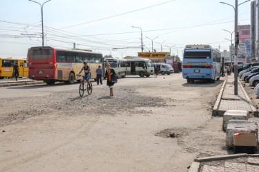 Busbahnhof in Ulan Bator