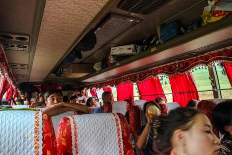 Innerhalb des Busses