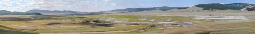 Am Anfang des Khövsgöl Nationalparks