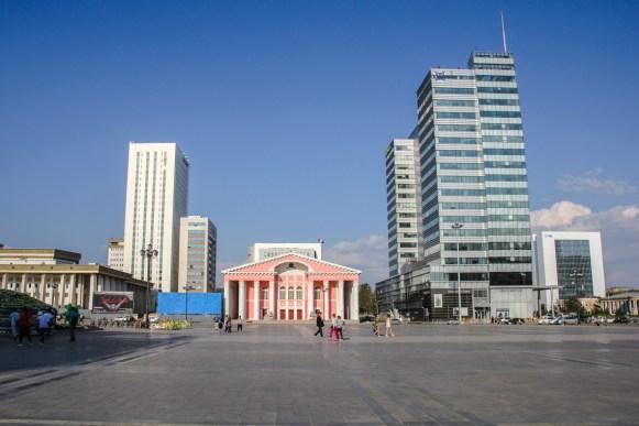 Nationaltheater auf dem Sukhbataar Platz