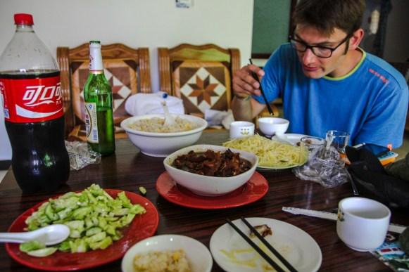 Mittagessen in Gubeikou