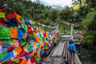Auf dem Weg zur Chong Gu Monastery