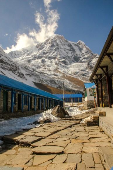 Die Lodges am Annapurna Base Camp