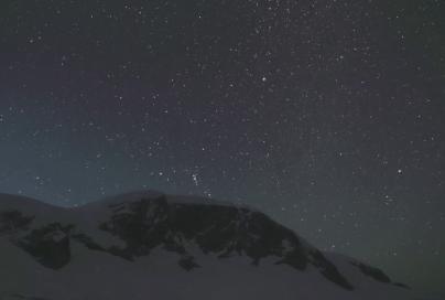 Sternenhimmel in der Antarktis