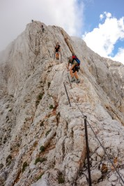 Abstieg vom Triglav