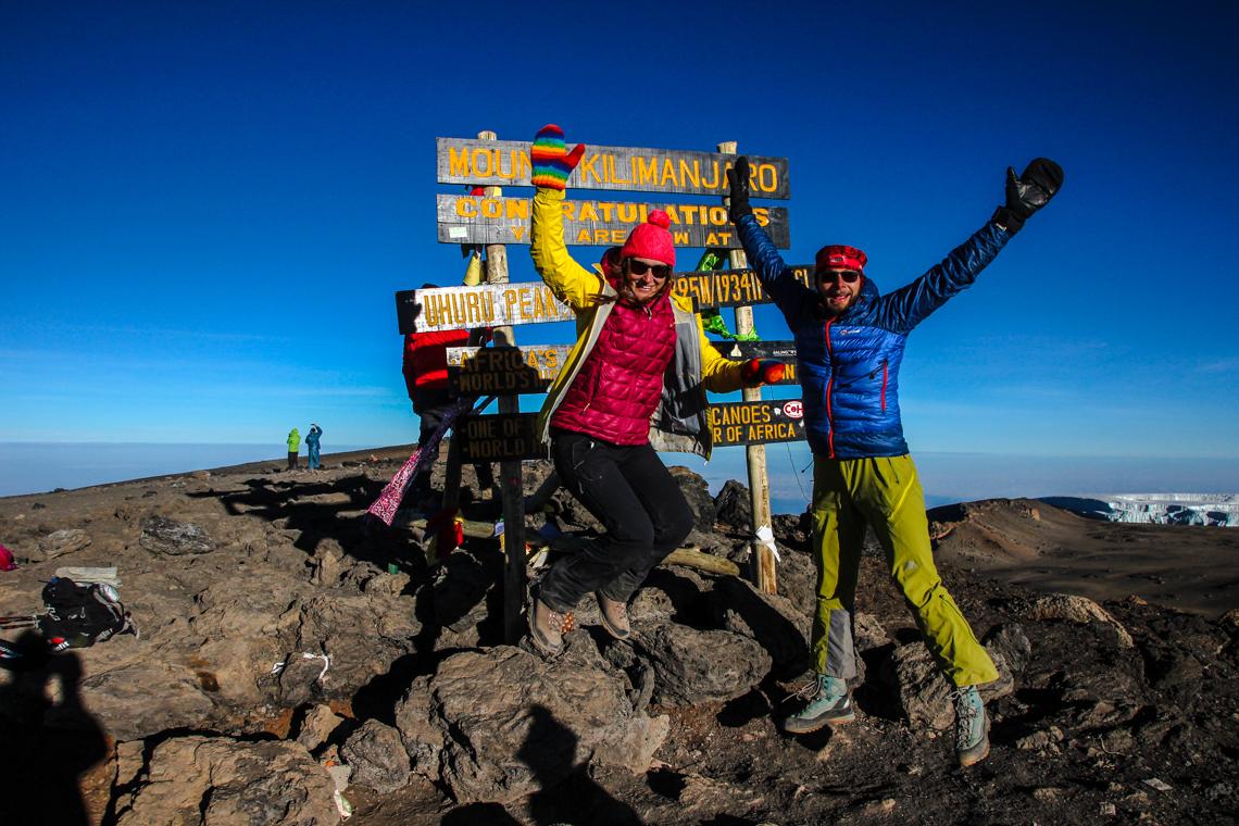 Das Zwiebelprinzip ist das Nonplusultra bei einer Besteigung des Kilimanjaros