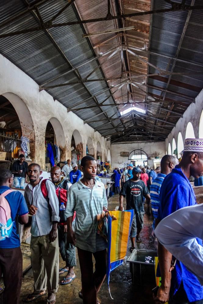 Fleischmarkt in Stone Town