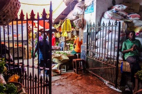 Gemüsemarkt in Stone Town