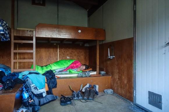 In der Boundary Hut