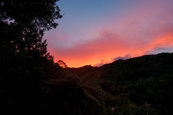 Sonnenuntergang über der Camp Bay