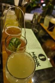 Cider-Tasting bei Monk