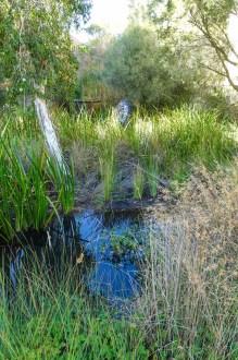 Reste des Sumpf auf dem Perth erbaut wurde
