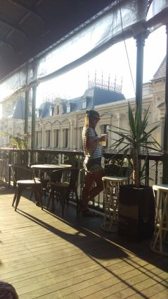 Rooftop Bar im Federal Hotel