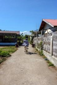 Straßen auf Gili Air