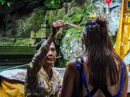 Hinduistische Segnung