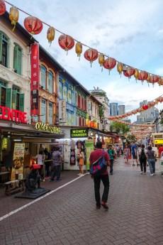 Einkaufsstraße in Chinatown