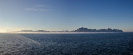 Blick auf Spitzbergen