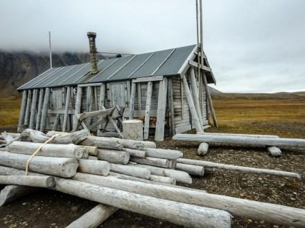 Jagdhütte auf Bamsebu