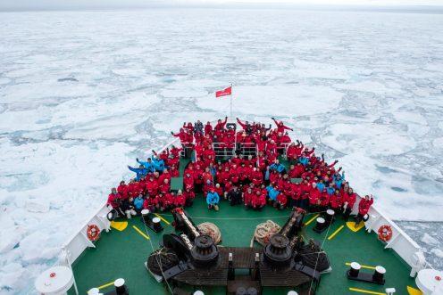 Alle Passagiere der G Expedition