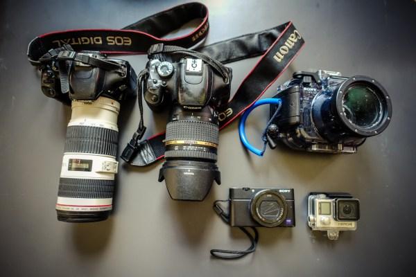 Meine Kamera-Ausrüstung fürs Wandern und Reisen