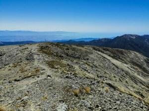 Blick von Mt Rintoul
