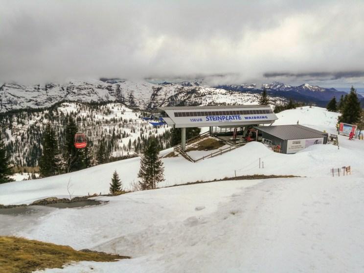 Skifahren im Skigebiet Steinplatte in Waidring