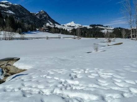 Verschneiter Lauchsee