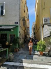 Gassen von Ajaccio