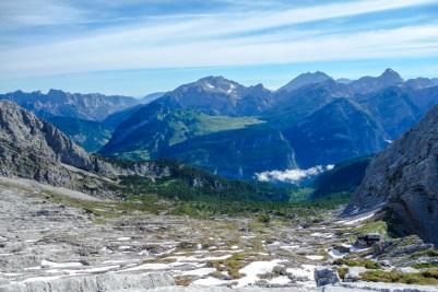 Blick vom Hochzint auf die Reiter Alpe