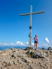 Gipfelkreuz des Bärenkopfs